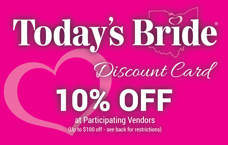 Today's Bride Discount Card
