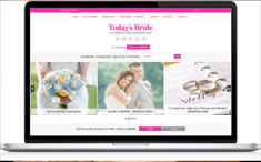 New Website | As Seen on TodaysBride.com