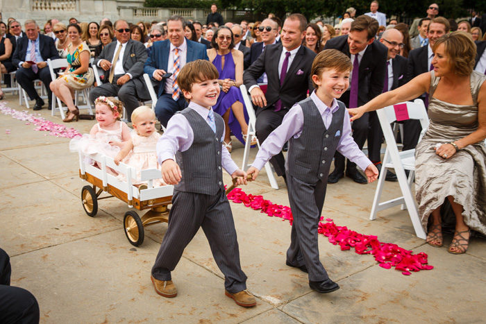 Children in Wedding | Genevieve Nisly Photography | As Seen on TodaysBride.com
