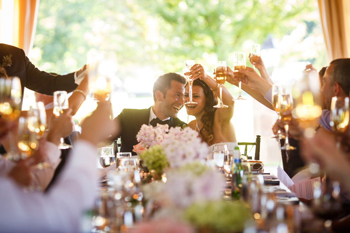 Wedding Toast | Genevieve Nisly Photography | As seen on TodaysBride.com