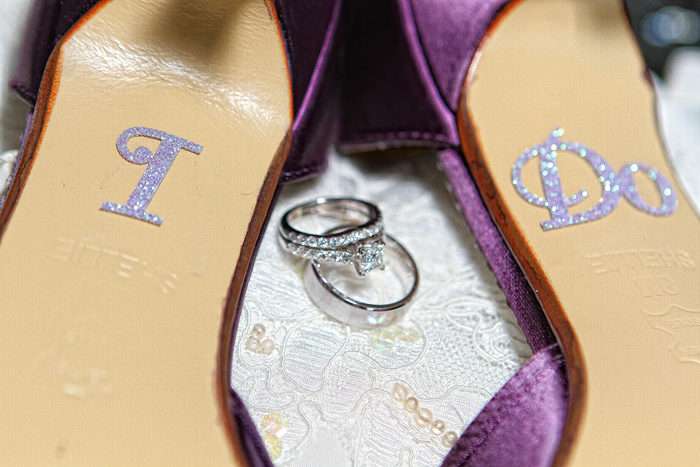 Wedding Day Shoes | Visions Photography by Swain | As Seen on TodaysBride.com