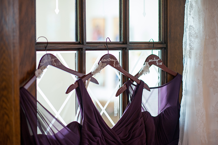 Jessica & Nathan - Fall-ing Head over Heels | three & Eight Photography | Real Ohio Wedding as seen on TodaysBride.com | fall wedding, fall wedding decor, wedding photography, sunflower wedding, purple and sunflower wedding, bridesmaid gowns