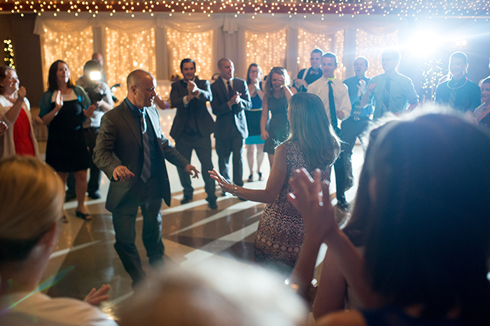 Jessica & Nathan - Fall-ing Head over Heels | three & Eight Photography | Real Ohio Wedding as seen on TodaysBride.com | fall wedding, fall wedding decor, wedding photography, sunflower wedding, purple and sunflower wedding,