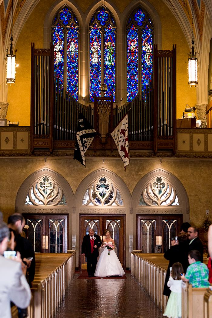 Krysten & Farres - Classic Cleveland Wedding | John Paul Studios, LLC | As seen on Todaysbride.com Real Weddings | Ohio wedding, pink wedding,