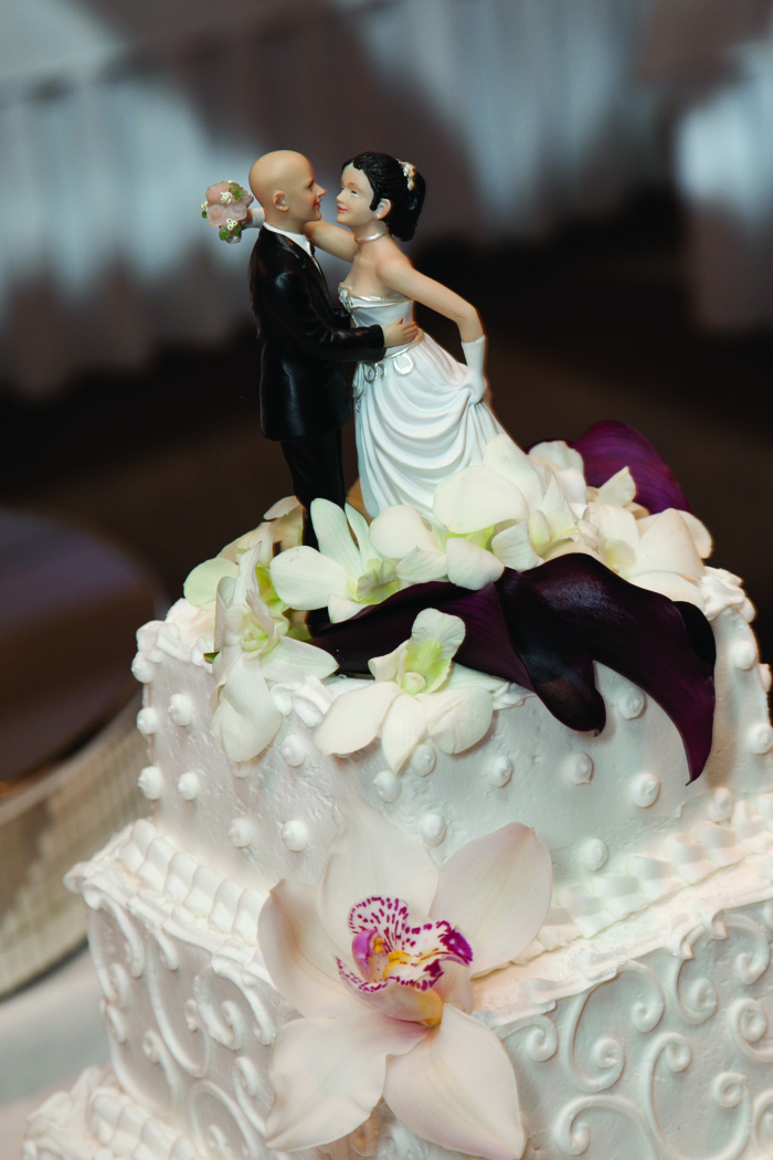 Wedding Cake Topper | Cirino Photography | As Seen on TodaysBride.com
