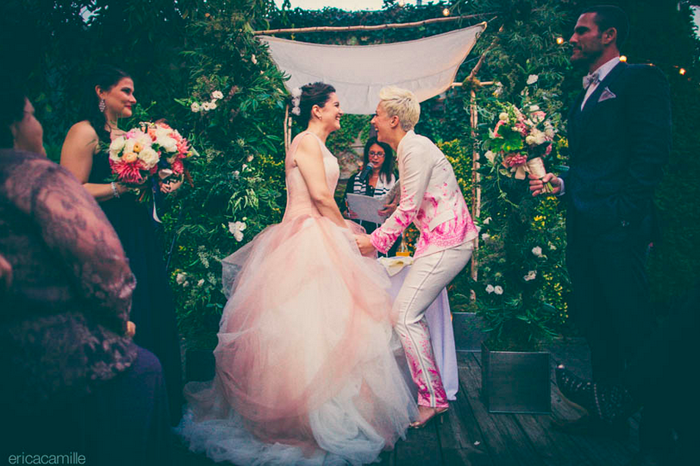 LGBT Wedding | Erica Camille Photography | As Seen on TodaysBride.com