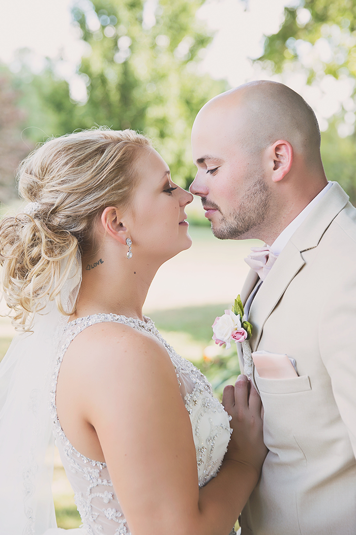 Amanda & Shawn - The Sweetest Day | Oh Snap! Photography | Real Wedding As seen on TodaysBride.com | Real ohio wedding, blush and gold wedding, wedding photography, blush and gold wedding color pallet