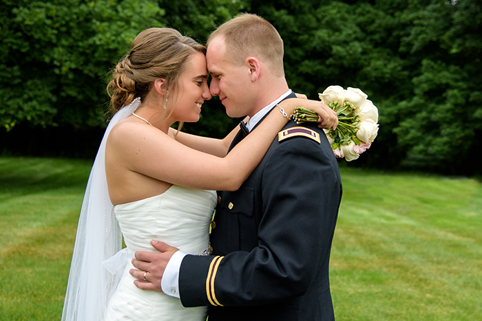 Katie & Nolan - A Military Marriage | Sabrina Hall Photography | Real Ohio Wedding as seen on TodaysBride.com, ohio wedding, military wedding ideas