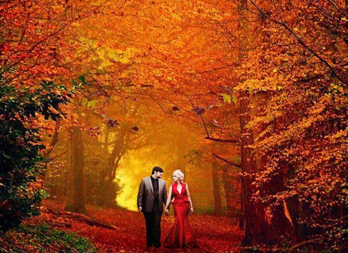 Fall Wedding | Artistic Photos by Glenda | As Seen on TodaysBride.com