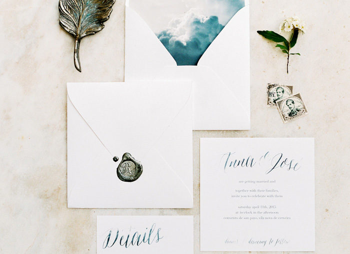 Wording your Invitations | Branco Prata | As Seen on TodaysBride.com