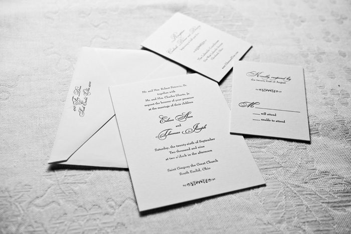 Addressing your Invitations | Genevieve Nisly Photography | As Seen on TodaysBride.com