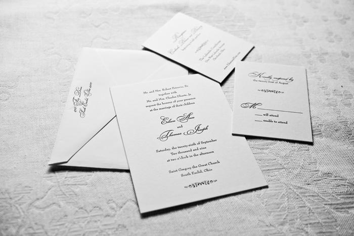 Wedding Invitations | Genevieve Nisly Photography | As Seen on TodaysBride.com