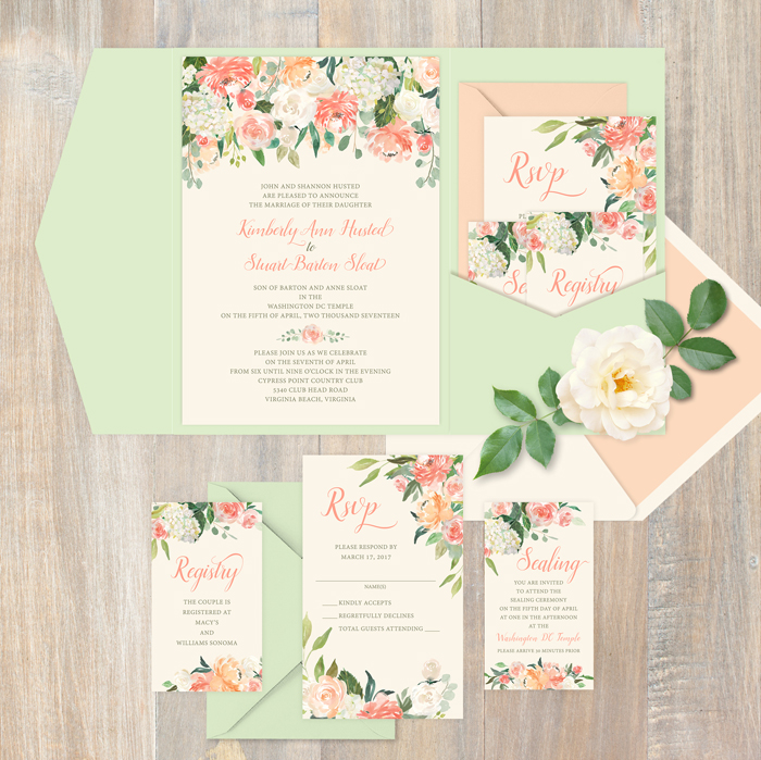 How To Assemble The Perfect Wedding Invitation Today S Bride