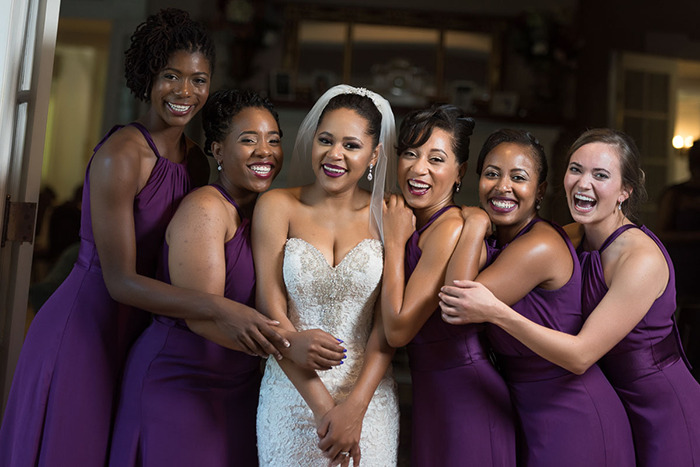 Alexandra & Myles - Fairy Tale Mansion Wedding | Human Artist Photography | As seen on TodaysBride.com | Real ohio wedding fairy tale wedding purple and silver wedding, wedding dress, wedding gown, wedding veil, outdoor wedding