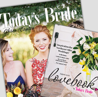 Today's Bride Magazine and LoveBook