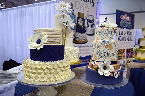 Details from the Today's Bride Wedding Show 2017 in Akron