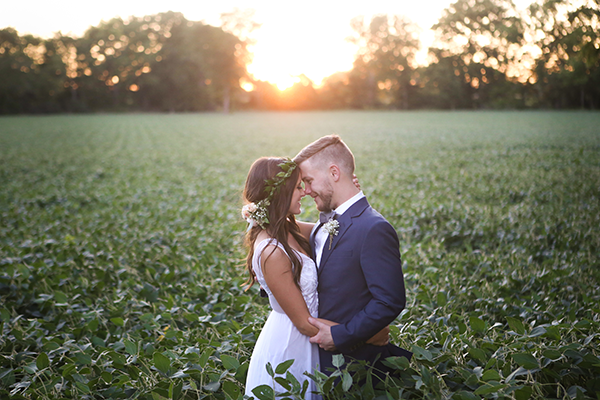 Bethany & Troy - A Super Stylish Sandusky Wedding | Malick Photo, Real Ohio Wedding as seen on TodaysBride.com, Bohemian Wedding Ideas, Rustic Wedding Ideas