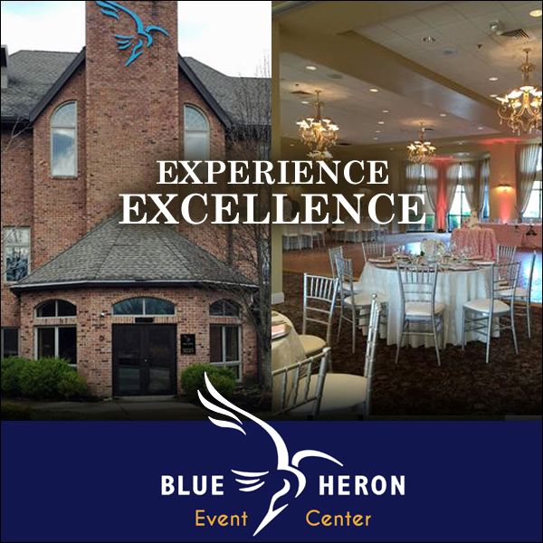A Taste of excellence Blue Heron