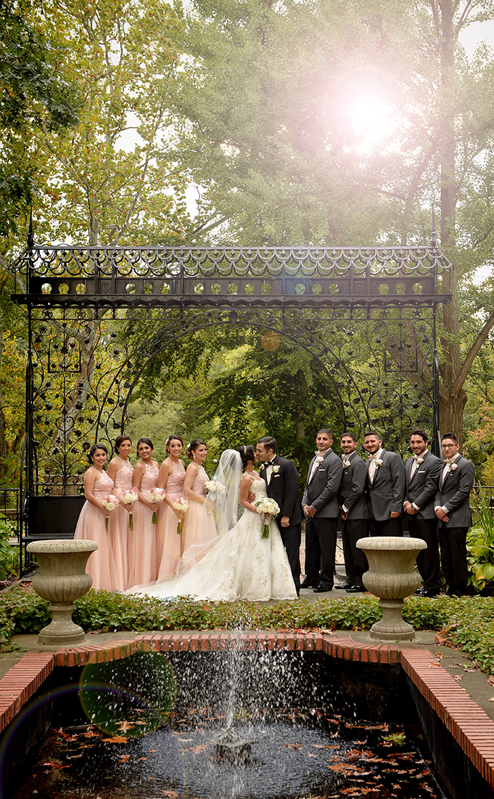 Jessica & Samir - Lovely LaCentre Wedding | Chris Smanto Photography | Real Ohio Wedding, cleveland wedding, blush and gold wedding, fairy tale wedding