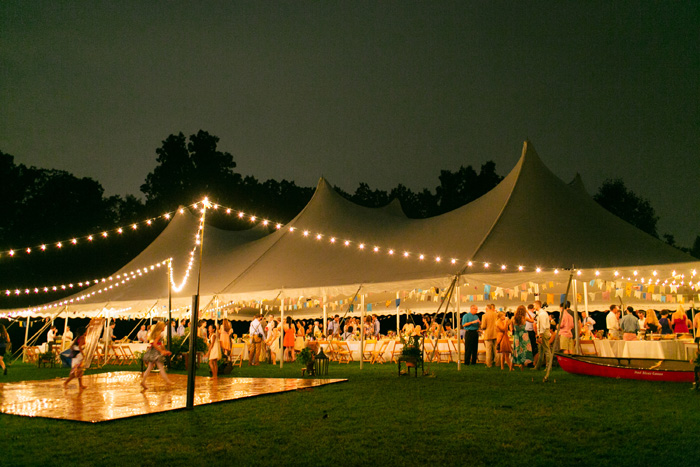 Tent Wedding | Lang Thomas Photography | As seen on TodaysBride.com