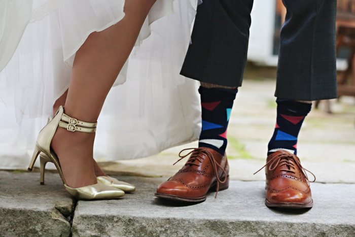 wedding shoes | B Frohman Imaging | As seen on TodaysBride.com