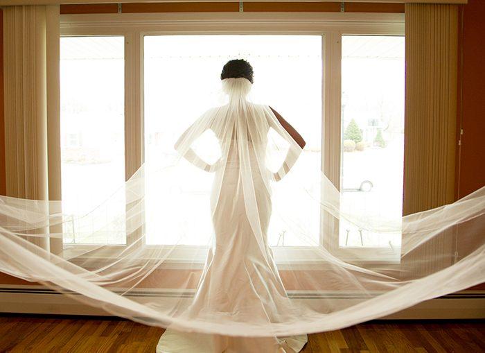 Veils and Hair Pieces | Cirino Photography | As seen on TodaysBride.com