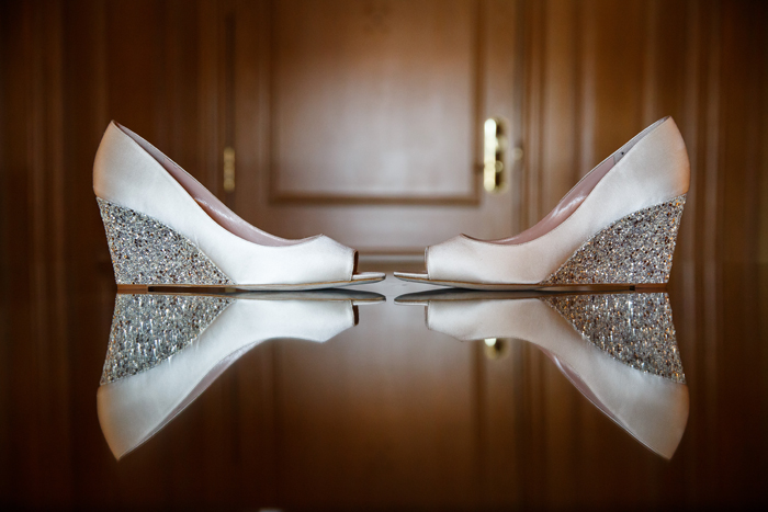 Wedding Shoes | Genevieve Nisly Photography | as seen on TodaysBride.com