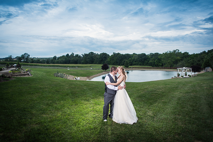 Caitlin & Patrick - Peacock Ridge Wedding | Real Ohio Wedding as seen on TodaysBride.com, photographed by Black Dog Photo Co, Rustic wedding