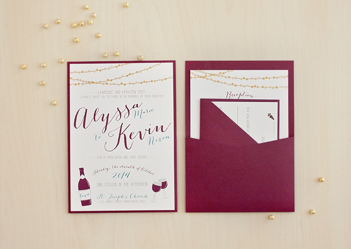 Wedding Invitations | Brittney Nichole Designs | As seen on TodaysBride.com