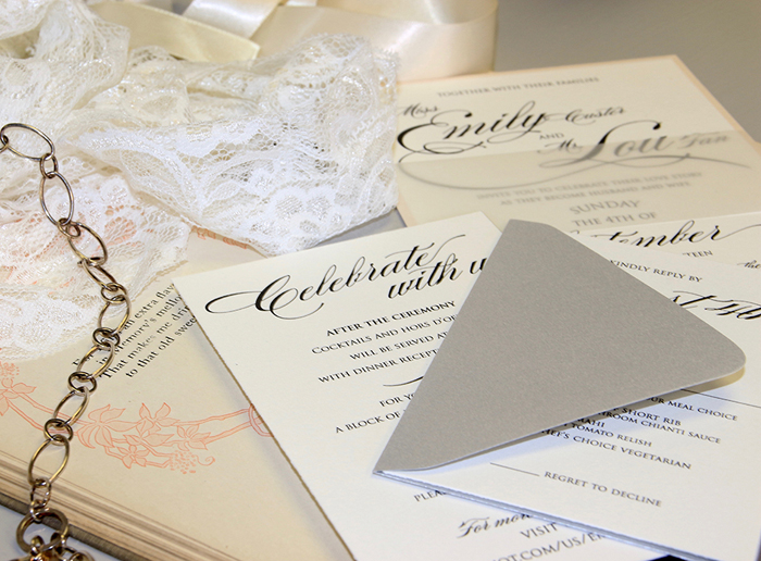 Wedding Invitations | Pink Tomato Creative | As seen on TodaysBride.com