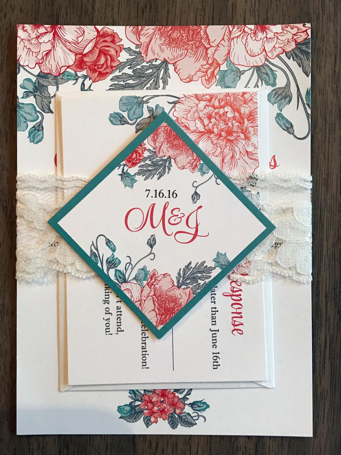 Wedding Invitations | Invitations by Kate | As seen on TodaysBride.com
