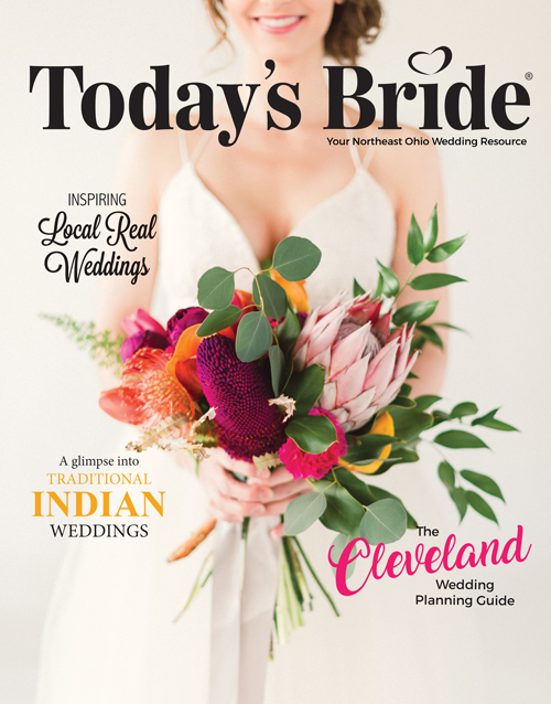 Cleveland Bridal Magazine | As seen on TodaysBride.com