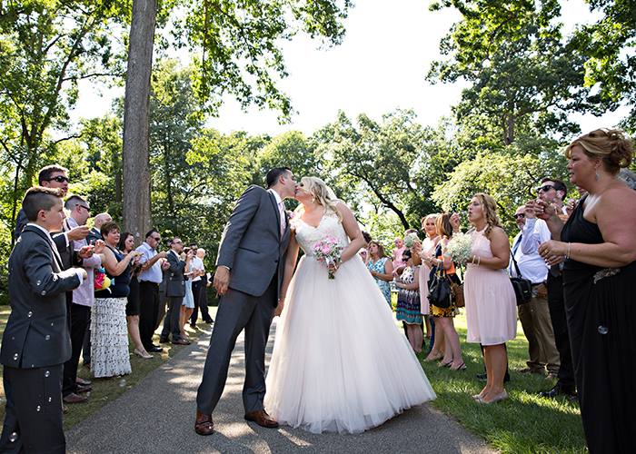 Carolyn Richard Stan Hywet Wedding Ceremony Karen Menyhart Photography Real Ohio