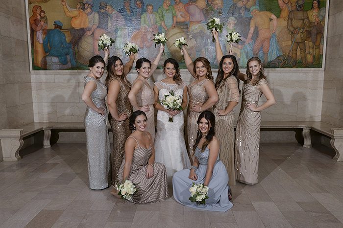 Liz & Brian - NYE in the CLE Wedding, Rising Star Photography, winter wedding, new years eve wedding, city wedding, cleveland wedding