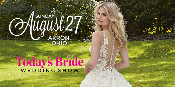 Today's Bride Announces their August Bridal Show Date