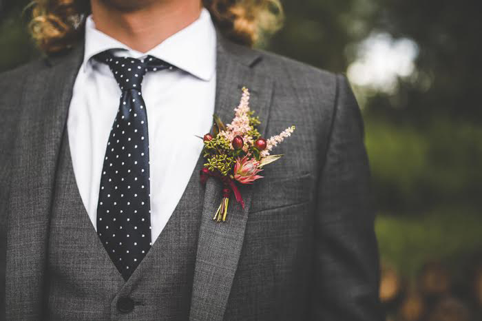 Groom Wedding Attire | Delbarr Photography | As seen on TodaysBride.com