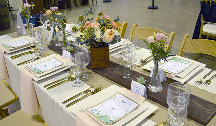 Old Carolina BBQ Company, Miller's Party Rental Center, Nikki's Perfect Petal Designs