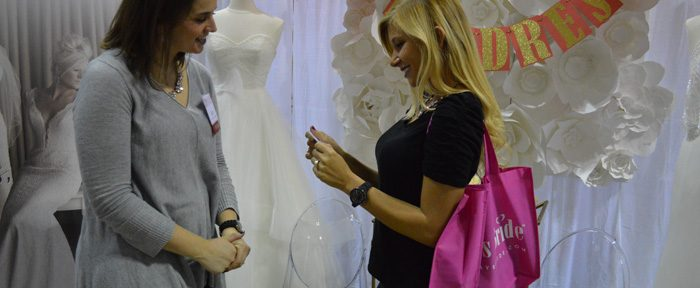 Booking Vendors at a Bridal Show