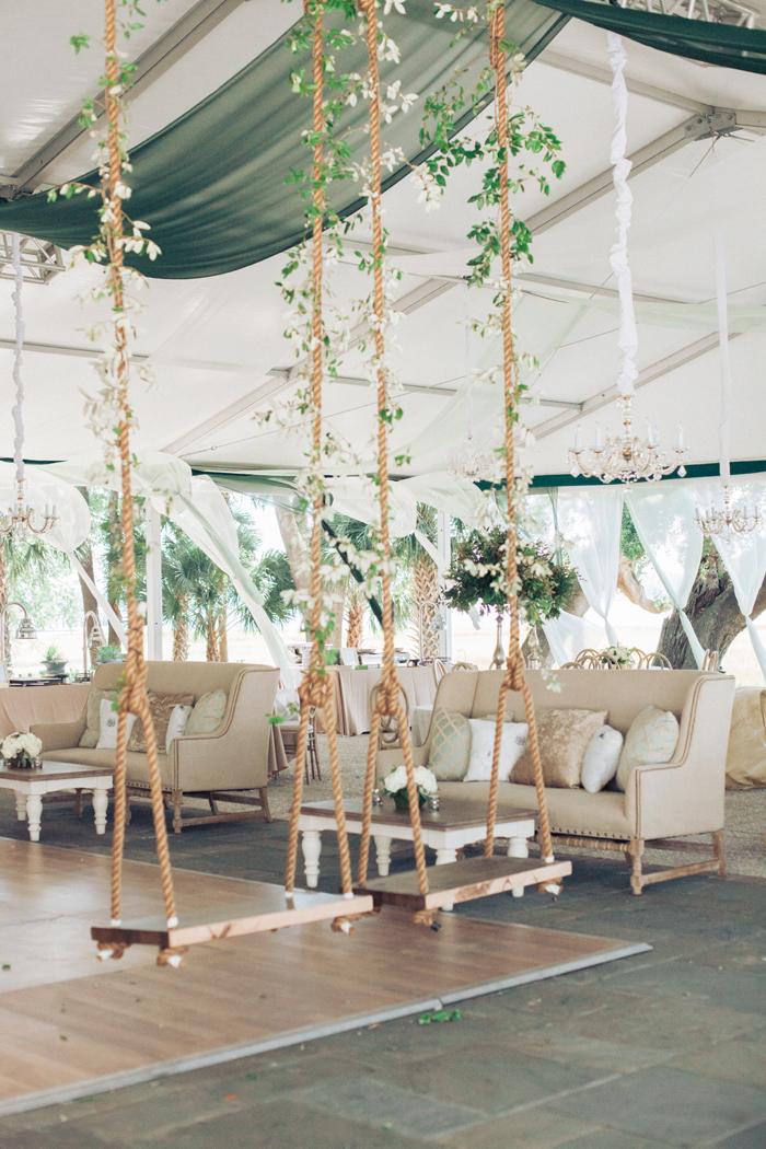 Garden Theme Wedding | Gideon Photography | As seen on TodaysBride.com