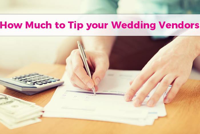Tips on how to tip todays bride junglespirit Image collections