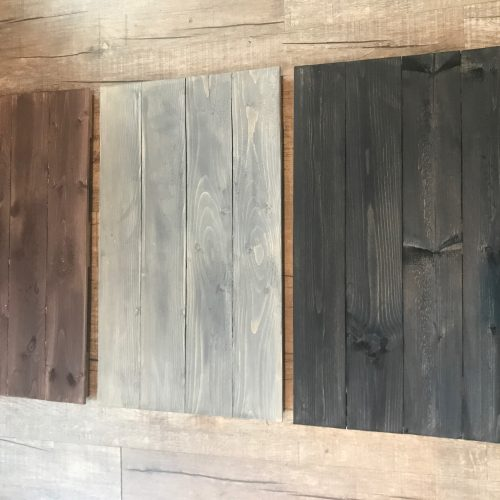 DIY Workhop Pallet Colors