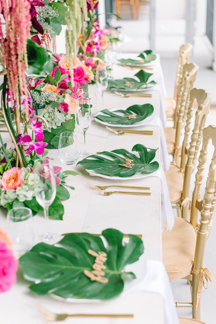 Top Trends For A Tropical Wedding Today S Bride