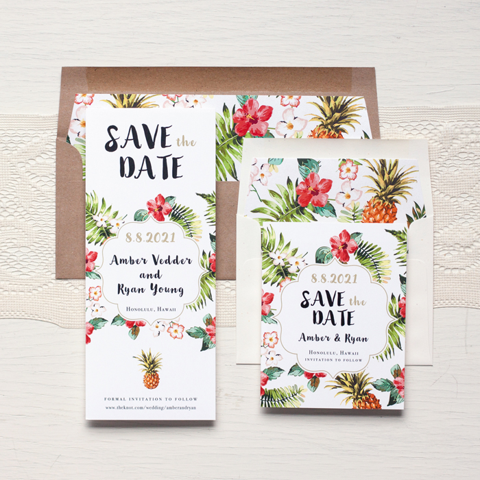 Tropical Wedding | Beacon Lane | As seen on TodaysBride.com