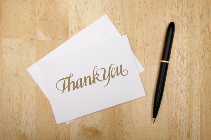 Thank You Notes | As seen on TodaysBride.com