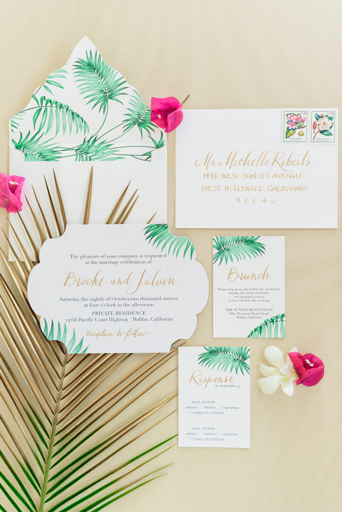 Tropical Wedding | Sanaz Photography | As seen on TodaysBride.com