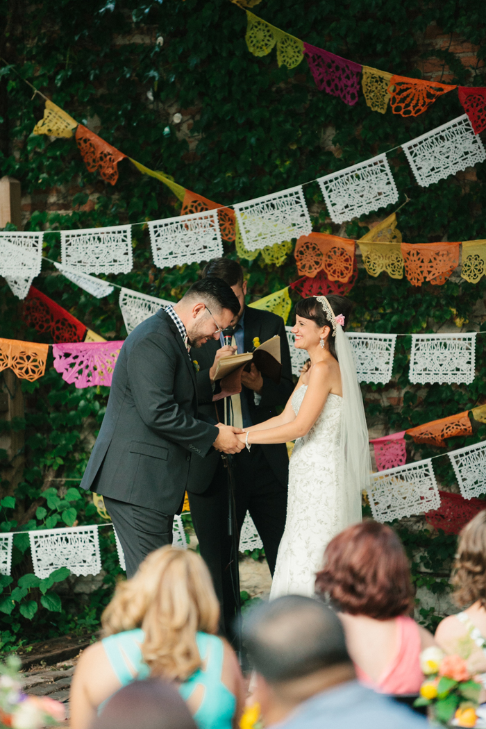 Halloween Wedding | Kate Romeneski Photography | As seen on TodaysBride.com