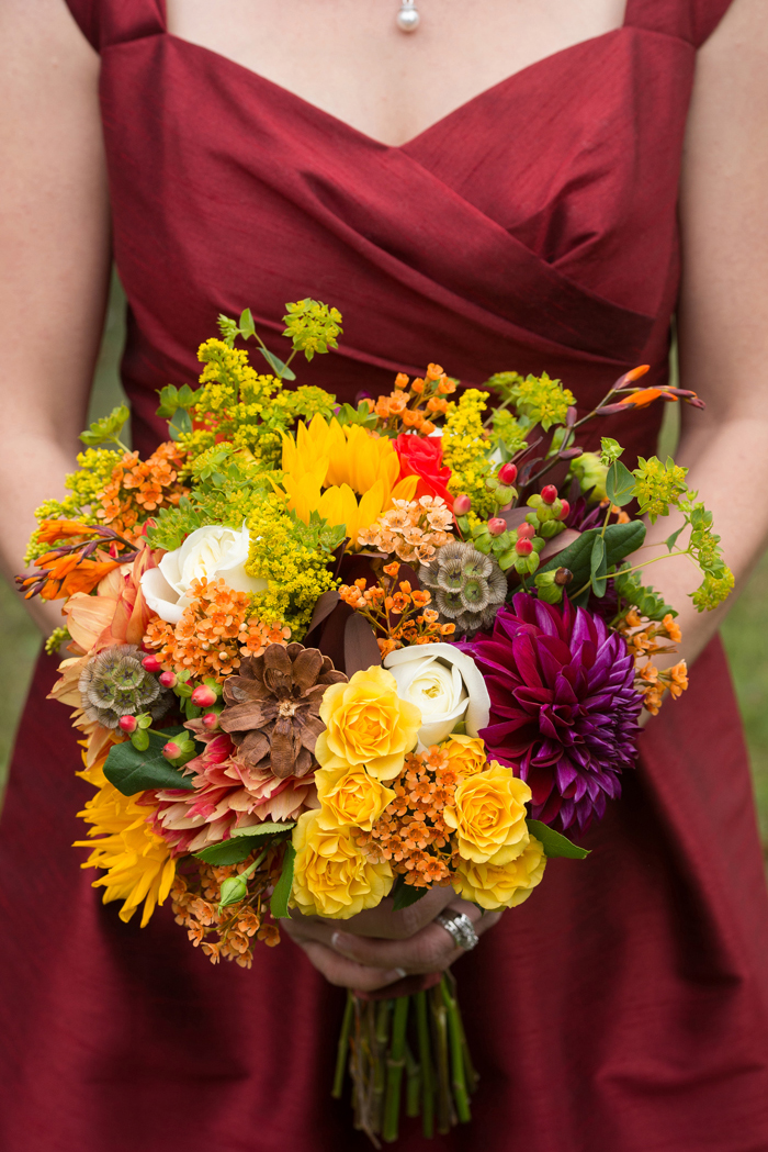 Fall Wedding Bouquet | Klodt Photography | As seen on TodaysBride.com