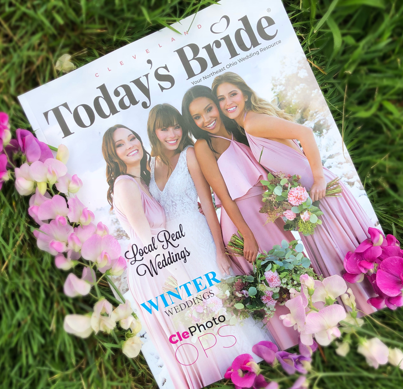 See the New Issue of Today's Bride