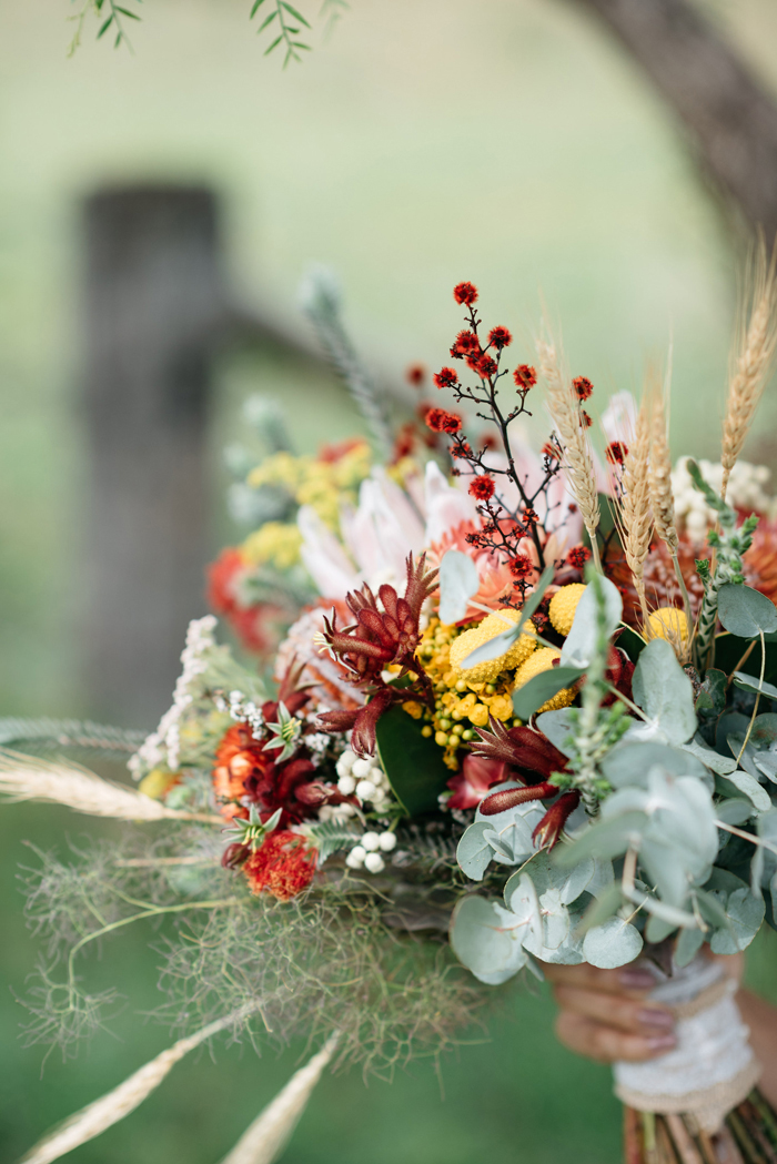 Fall Wedding Bouquet | Studio Something | As seen on TodaysBride.com