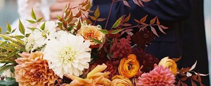 Creating a Gorgeous Fall Wedding Bouquet